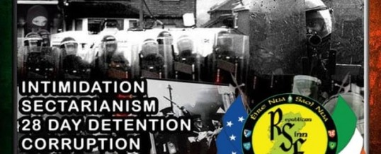 RUC harassment intensifies against Republican Sinn Féin members